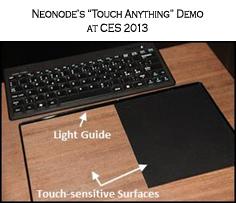 Neonode's MultiSensing Technology