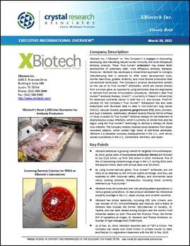 XBiotech Inc. EIO Cover